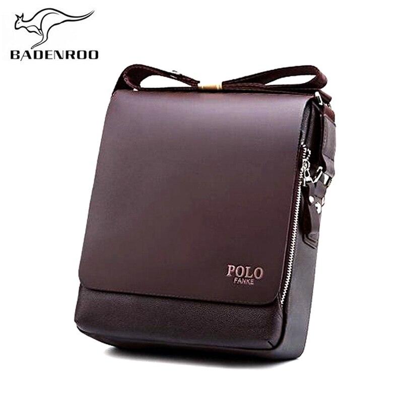 035353a73dae Купить 2018 мужские сумки мессенджеры известных брендов, деловая кожаная мужская  сумка, модная сумка через плечо, роскошная Повседневная сумка Bolsas Цена  ...