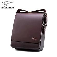 cd859c0ce644 2018 POLO Men Messenger Bags Famous Brands Business Leather Man Bag Fashion Crossbody  Shoulder Bag Luxury