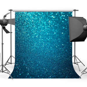 Promo Mehofoto Blue Glitter Background For Photography Bokeh Sparkly Backdrop For Picture Photo Studio  Birthday Backdrop  Back Drops