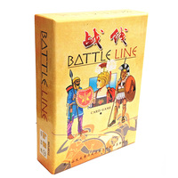 Battle Line Board Game 2 Players To Play English Chinese Version Easy Play And Funny Card
