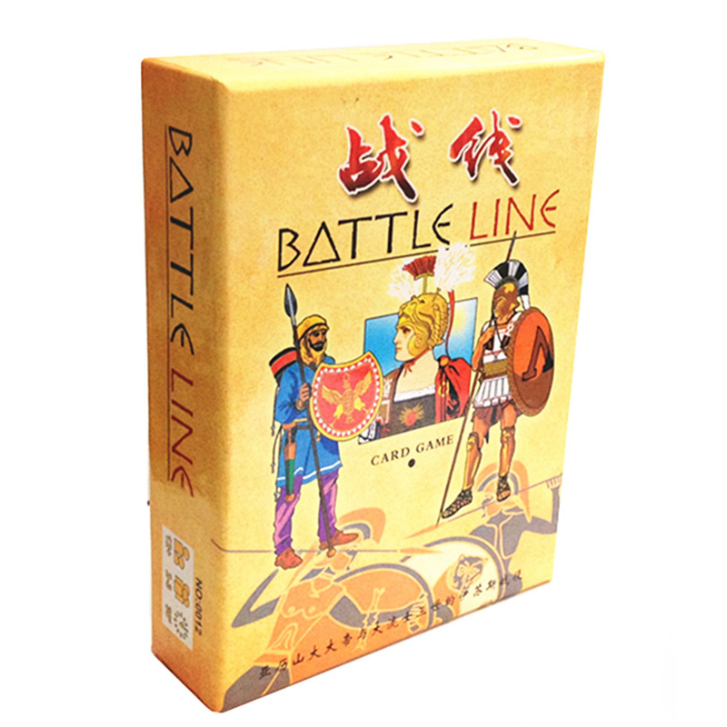 1 Box Battle Line Board Game 2 Players Play Easy Play And -1951