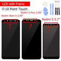 for Xiaomi Redmi 5 Plus/ Note 5 Pro LCD Display with Frame Touch Screen LCD Display Digitizer Assembly Repair Parts