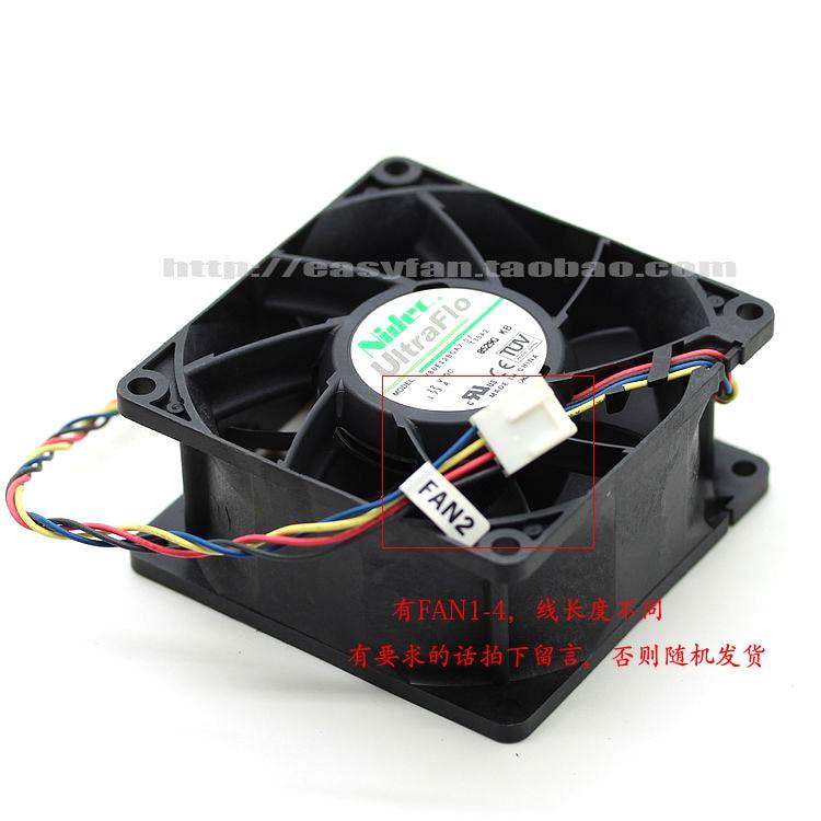Nidec V80E12BGA7-07 T35A2 DC 12 V 1.73A 80x80x38mm serveur refroidisseur ventilateur