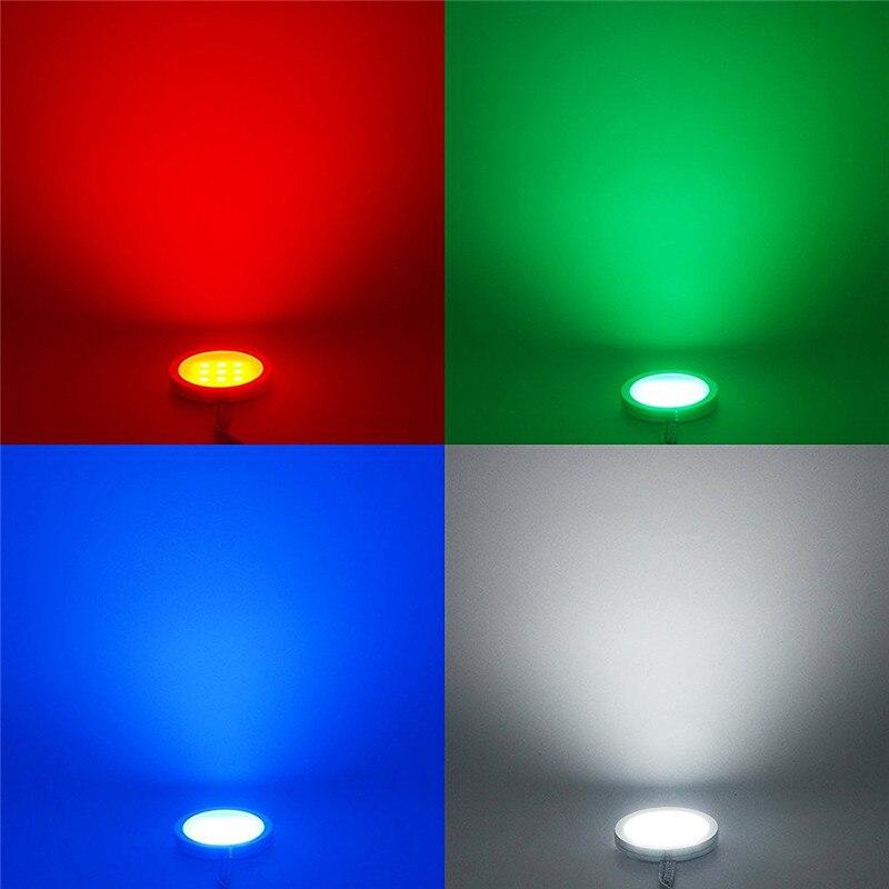 Aiboo RGBW RGB + белый свет под кабинет 6 Лампы для мотоциклов с ИК Дистанционное управление затемнения для Кухня акцент украшения Освещение