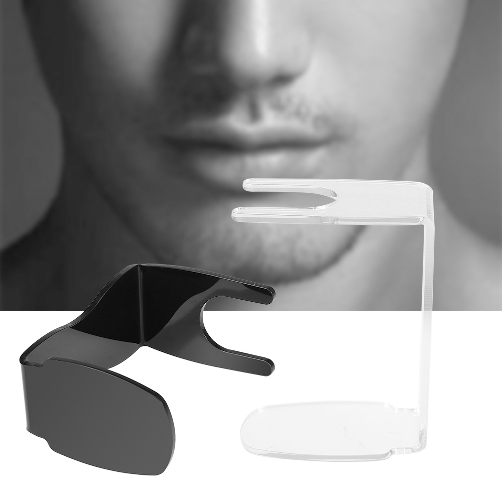 Shaving Holder Shaving Brush Stand Acrylic Men's Shaving Stand Holder For Shaving Razor Bowl Tool Facial Cleaning Tool