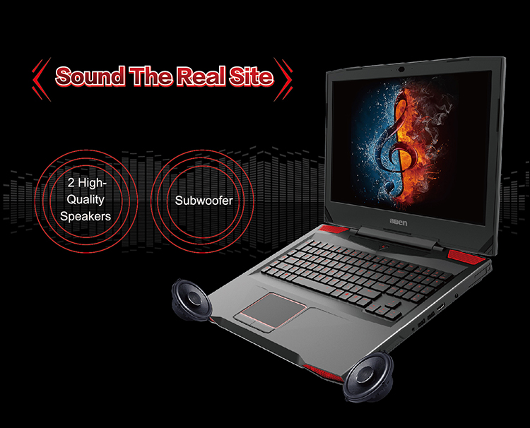 BBEN Laptop Gaming Computer Intel i7 7700HQ Kabylake 6G NVIDIA GTX1060 32GB RAM RGB Mechanical Keyboard 720P Camera Pro Win10
