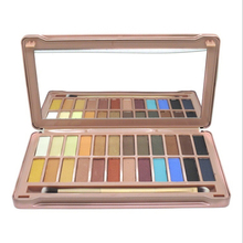 2016 Makeup 12 colors Eyeshadow naked Palette Earth - colored NK cosmetic NAKE eye shadow case Makeup set Eye Shadow With Brush