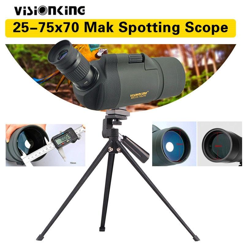 Visionking 25-75x70 Waterproof MAK Spotting Scope Monocular Telescope with Tripod dali zensor 5 ax walnut