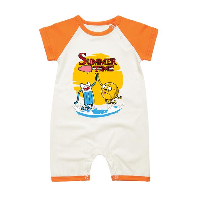 Pyjamas Bébé FINN JACK – Barboteuse Bébé À Manches Courtes