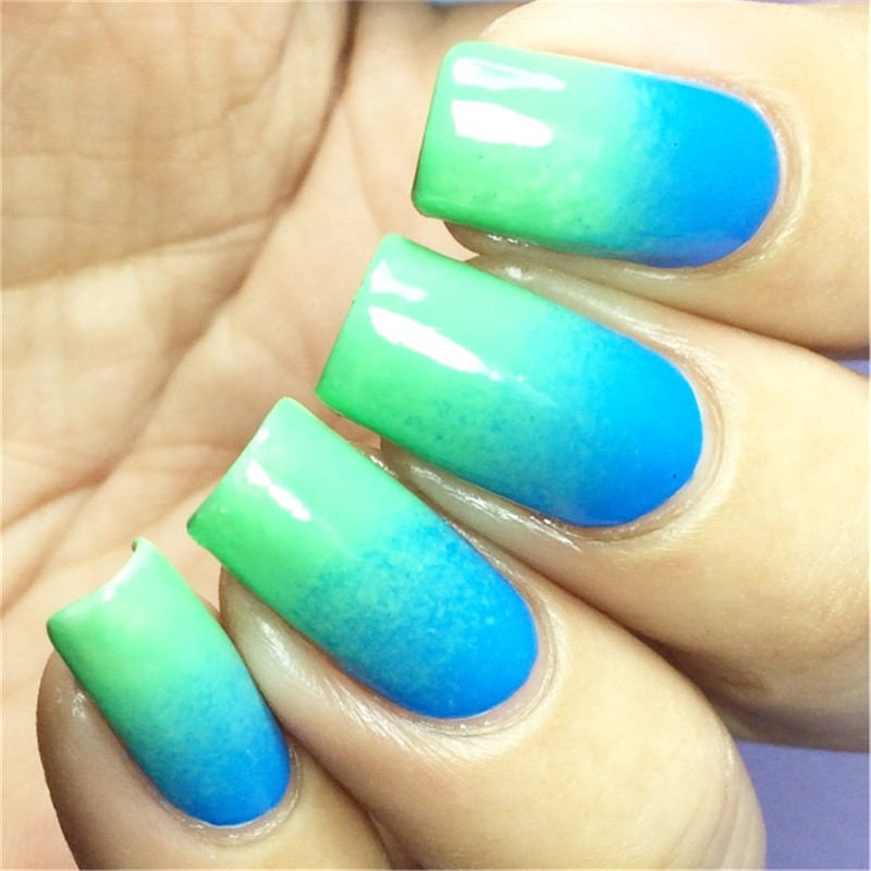 12pcs Nails Soft Sponges Triangle For Color Fade Manicure Grant White Nail Buffer Diy Art Tools Polish In Form From Beauty Health On