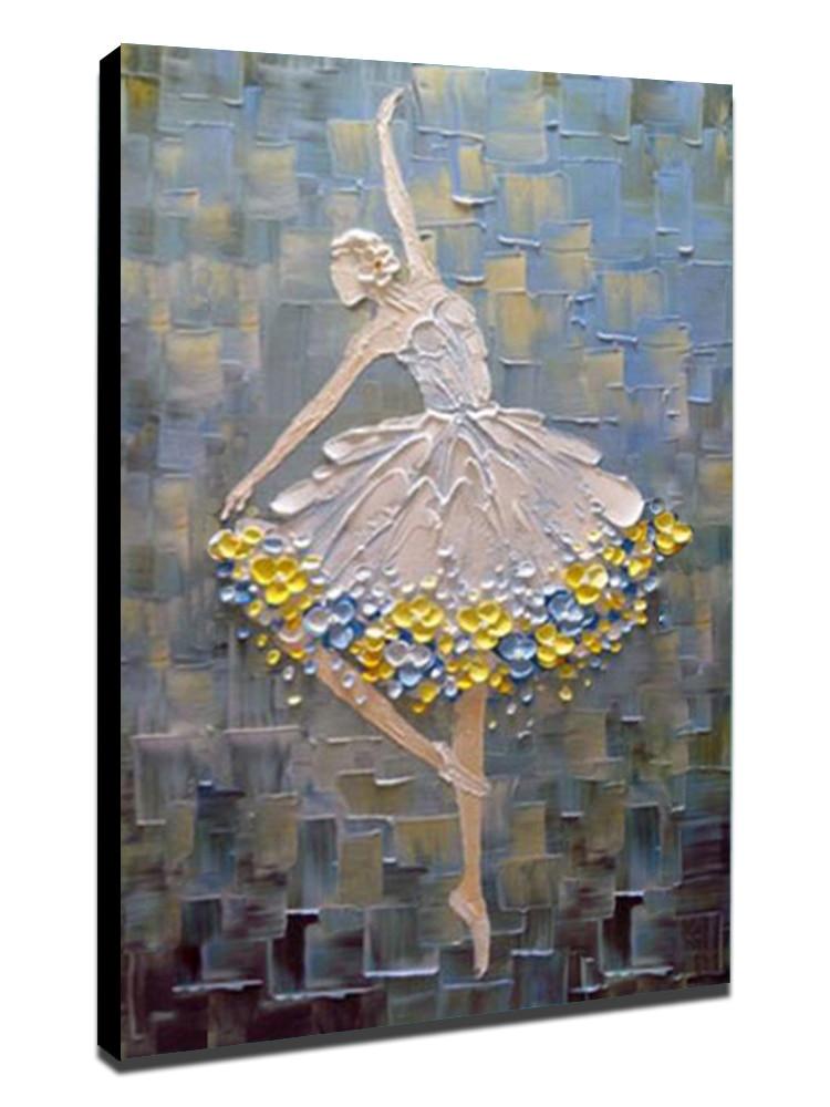 "1/"" Crystal Dome Button Degas Ballet Dancer #2 FREE US SHIPPING"