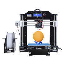 Infitary 3D Printer High Precision Large Printing Size Prusa I3 DIY 3d Printer Kit With Free