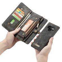 Purse Wristlet Phone case For Samsung Galaxy s 8 9 note 20 Ultra 10 + Plus 8 9 s7 edge coque Luxury Leather Cover accessories