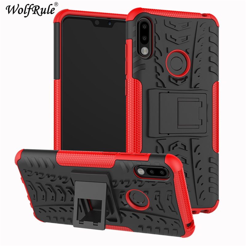 Phone Case For Asus Zenfone Max Pro M2 Case Dual Layer Armor Shells TPU+PC Shockproof Cover For Asus Zenfone Max Pro M2 ZB631KL