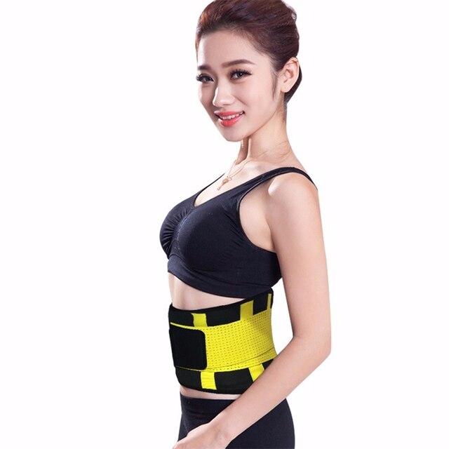 Women Posture Corrector Belt Hot Slimming Body Shaper Waist Trainer Trimmer Fitness Corset Tummy Control Shapewear Stomach 2