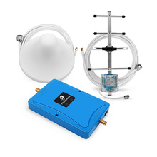 New 2G 3G 4G Dual Band Cell Phone Signal booster GSM 900 LTE 800 MHz Cellular