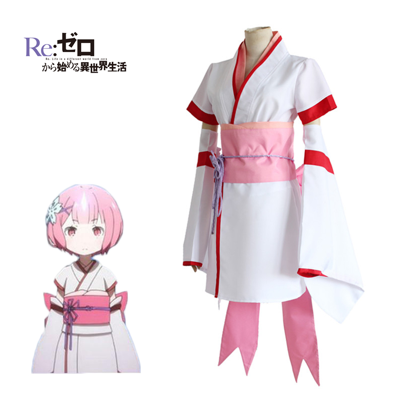 Gyhyd Anime Japanese Costume Maid Dress Ram Rem Cosplay Girls Re:zero Kara Hajimeru Isekai Seikatsu Life In A Different World Always Buy Good Home