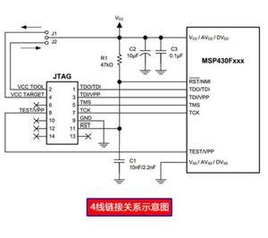 Image 2 - MSP430 émulateur MSP FET430UIF programmeur dinterface de débogage USB JTAG/BSL/SBW prend en charge la carte de développement F149