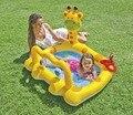 Intex bebê natação piscina inflável crianças zwembad crianças caráter gonflable crianças piscinas de plástico amarelo para infantil