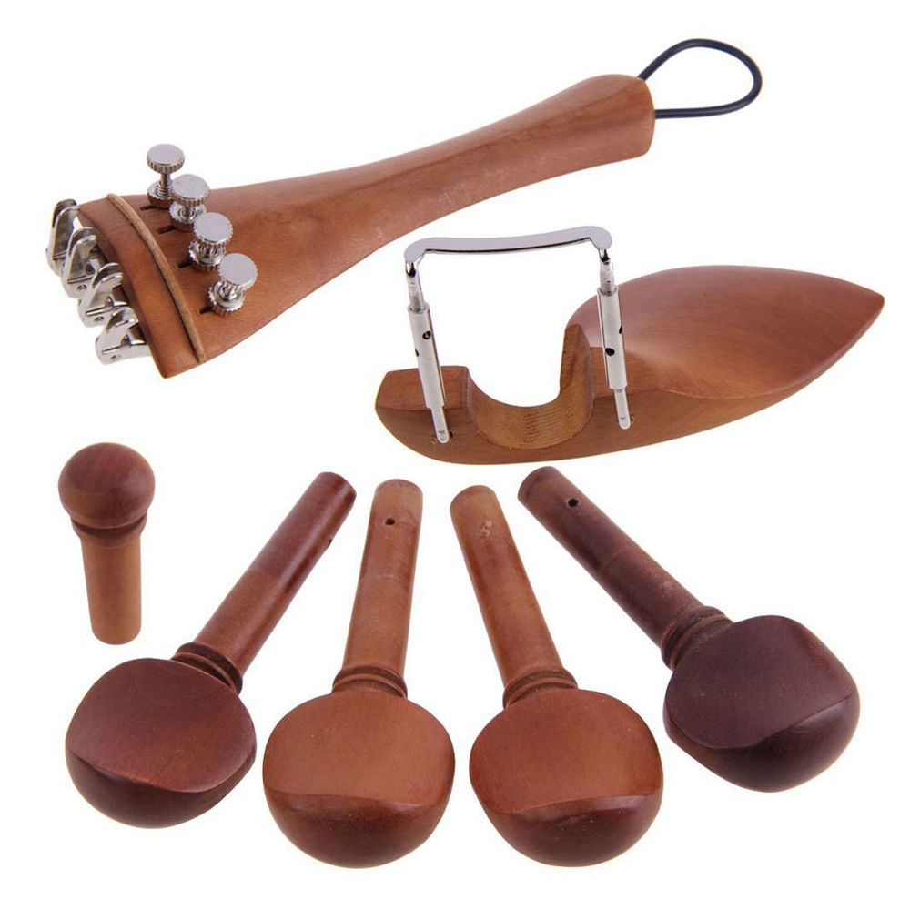 New A Natural Jujube wood 4/4 violin Parts accessories Set of Fine-Tuning, Chinrest Chin Rest, Strings, Tail Nail, Tail Rope, New A Natural Jujube wood 4/4 violin Parts accessories Set of Fine-Tuning, Chinrest Chin Rest, Strings, Tail Nail, Tail Rope,
