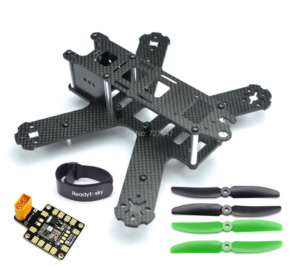 Mini QAV210 210mm 210 Pure Carbon Fiber Quadcopter Frame Kit For LS-210 QAV210