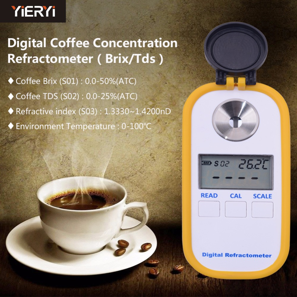 how to use coffee refractometer