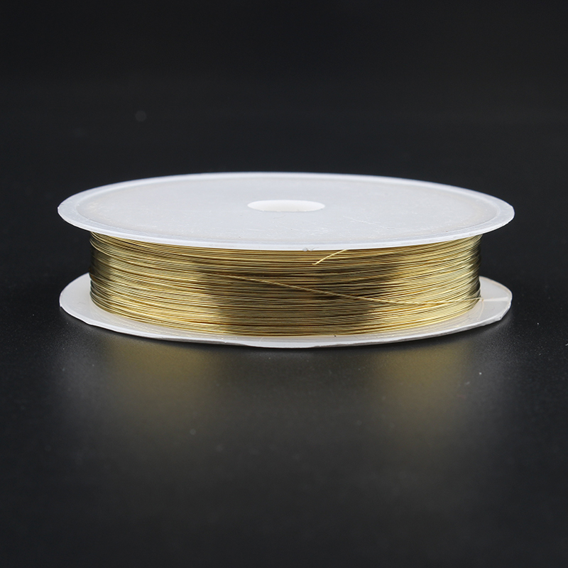 Wholesale DIY copper wire 0 2mm 1 0mm copper wire jewelry wire crafts metal wire shoe stereotyped wire golden silver color stock in Jewelry Findings Components from Jewelry Accessories