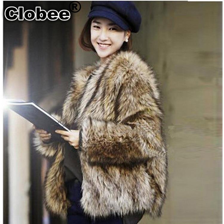 Women's Clothing Apprehensive 6xl Plus Size Furry Coat 2019 Long Sleeve Thicken Faux Fox Fur Coat Winter Women Ladies Mink Loose Fall Jacket Coats Wr610 Diversified In Packaging