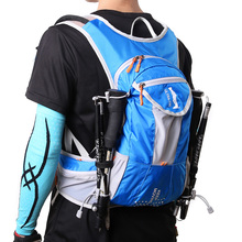 ULTRA-TRI Hydration Trail Running Backpack Outdoor Sport Bag Race Training Professional Lightweight Vest Mochila 12L