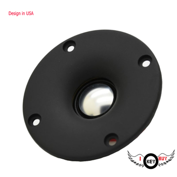 HiFi High Quality 3 Inch 74mm Aluminum Diagram Tweeters Hi End Car KTV 4 Ohm 20w Screws Audio Dome Tweeter Speaker image