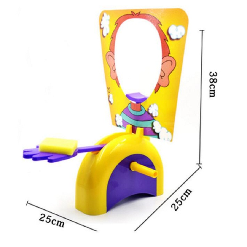 Fun Cute Shocker Gadgets Cream Pie In The Face Family Parent Child Prank Jokes Games Anti Stress Kids Toys Birthday Game Gifts bohs 2 persons parent child board game family fun recreation
