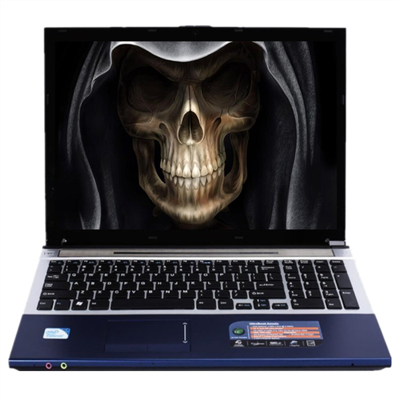 8GB RAM 240GB SSD 2000GB HDD 15.6 LED HD 1920*1080P Intel Core i7 CPU Gaming Laptop Windows 10 Notebook with DVD RW Bluetooth