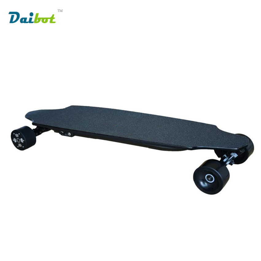 2017 New 4 Wheel Electric Scooter Skateboard Hoverboard Longboard Kick Scooter 300W Dual Motor with Wireless Remote Controller 12 front wheel electric scooter kit electric scooter spare parts electric skateboard conversion kit