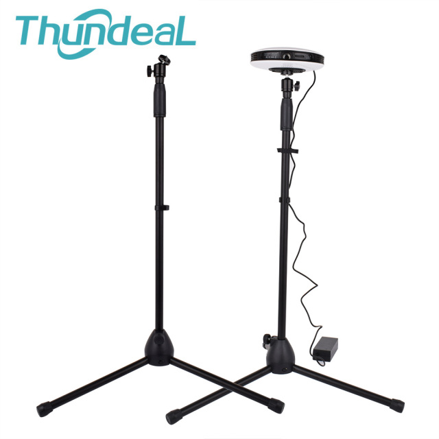 ThundeaL 141cm Universal Mini Projector Floor Adjustable Stand Tripod Threading Stretch C80 YG400 T18 Projector Holder Bracket