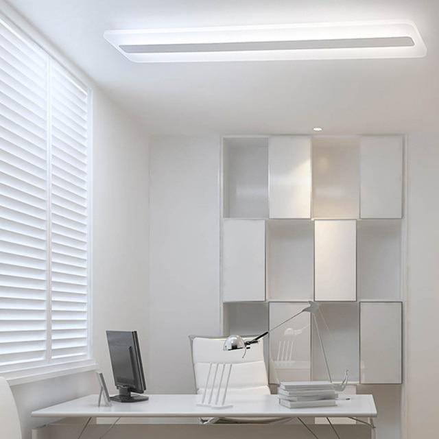 Lange gestreiften FÜHRTE deckenleuchten büro schlafzimmer moderne ...