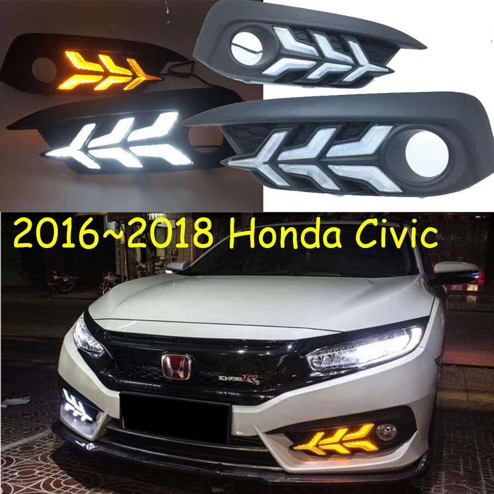 LED,2016~2018 CIVI daytime Light,car accessories,CIVI fog light,motorcycle,CIVI headlight,car styling,CIVI taillight