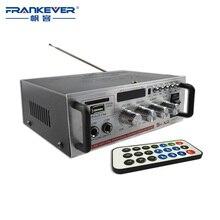 Frankever DC12V o AC200V-240V Coche Digital de Alta Calidad de Alta Fidelidad de Audio tda7377 Amplificador de Sonido subwoofer Placa Profesional AK-668D
