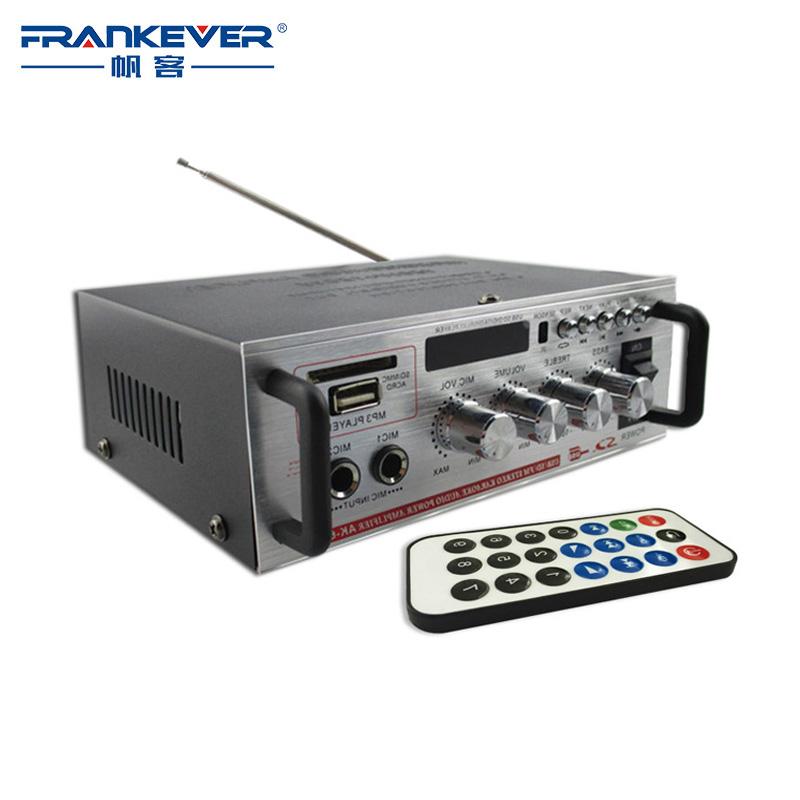 Prix pour Salut fi AK668D DC12V ou AC200V-240V haute qualité numérique audio amplificateur Livraison gratuite