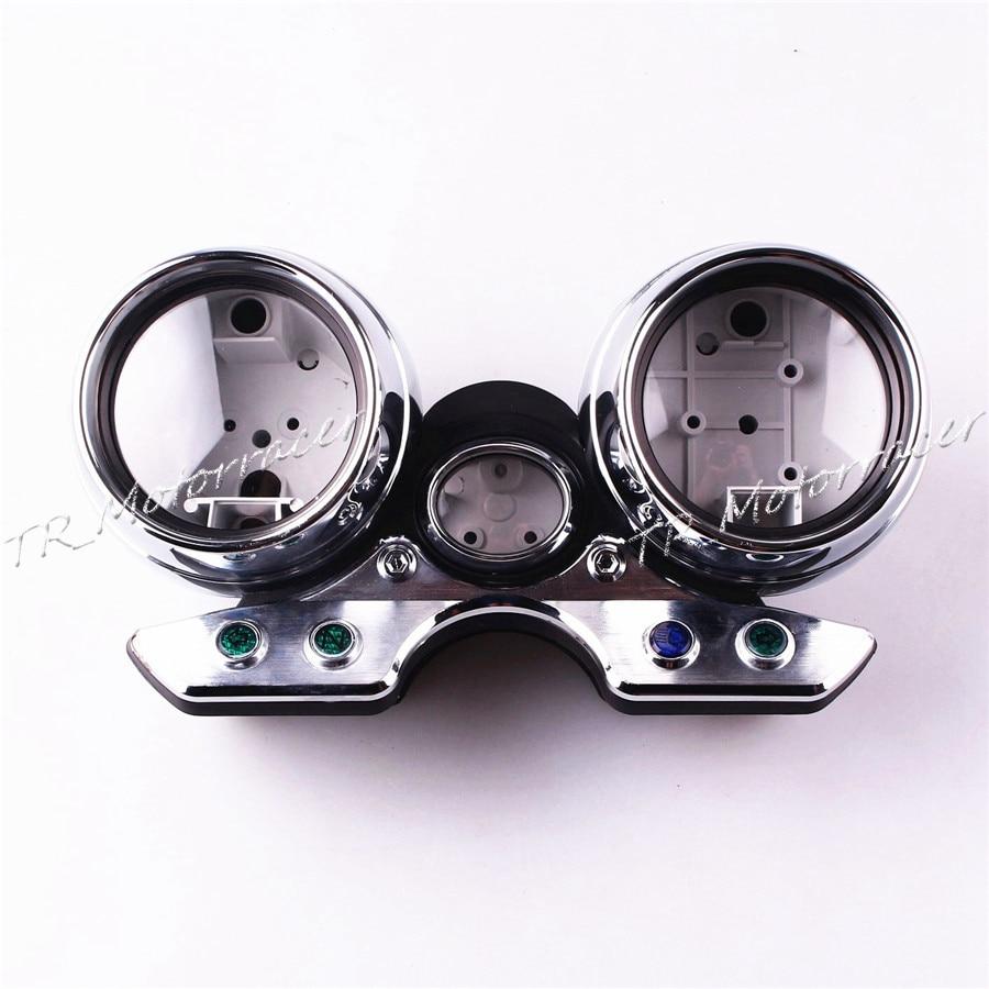 Motorcycle Speedometer Gauge Case Tachometer Cover For Suzuki GSX400 GSX750 1997-2002 Motor Accessories  motorcycle speedometer gauge cover tachometer for honda goldwing gl1800 2001 2002 2003 2004 2005 speedometer tachometer cover