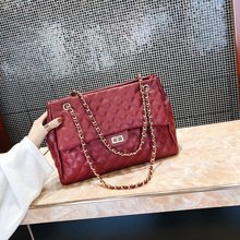 Fairy Big Bag Girl 2019 New Chain Bag Shoulder Bag women leather handbags