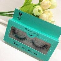 10 pairs 100% Real Fake Mink Eyelashes 3D Natural False Eyelashes 3d Mink Lashes Soft Eyelash Extension Makeup Kit free shipping