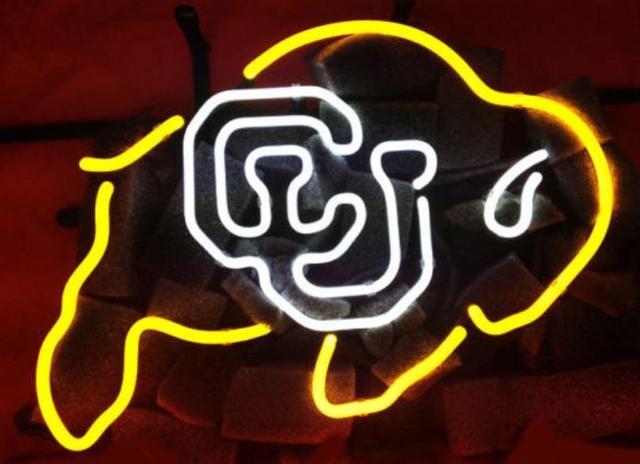 """Business Benutzerdefinierte NEON schild Für NCAA College Colorado ECHT Glasrohr BIER BAR PUB Club Shop Licht Zeichen 16*12"""""""