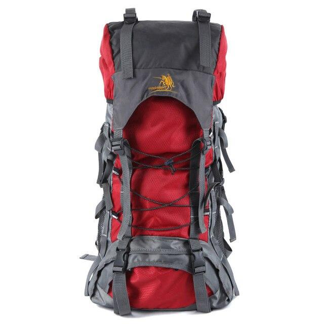 5b105878cf Women Bag Men Free Knight 60L Waterproof Durable Outdoor Climbing Backpack  Hiking Athletic Sport Travel Backpack DSB0001