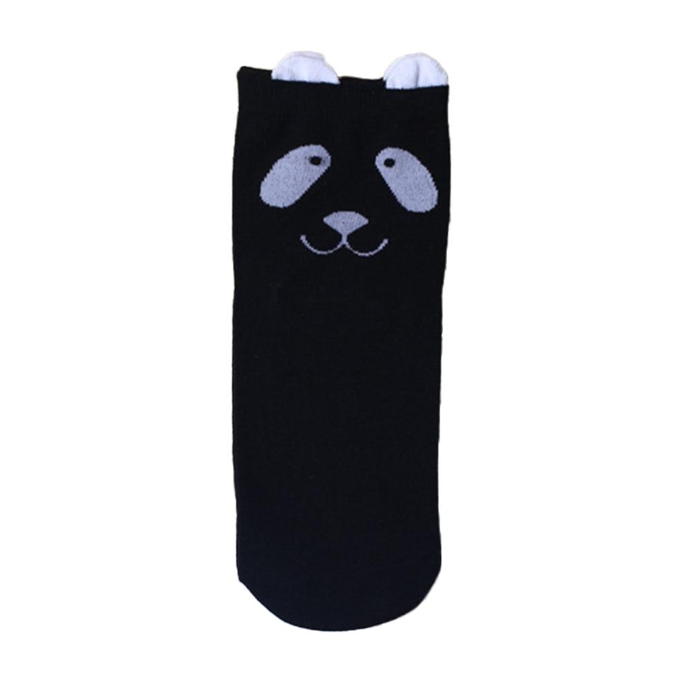Хлопок Повседневная Симпатичные Прекрасный Мультфильм Животных Panda Печати Девочек-Подростков Лодыжки Высокие Носки