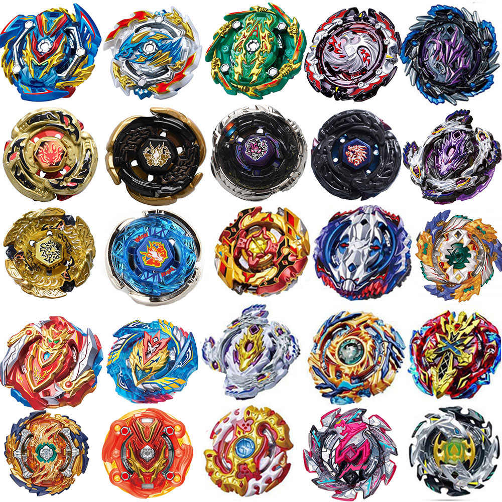 New Burst Launchers Beyblade Toys B-139 B-140 B-142 B-144 Bayblade Toupie Metal Burst God Spinning Top Bey Blade Blades Toy