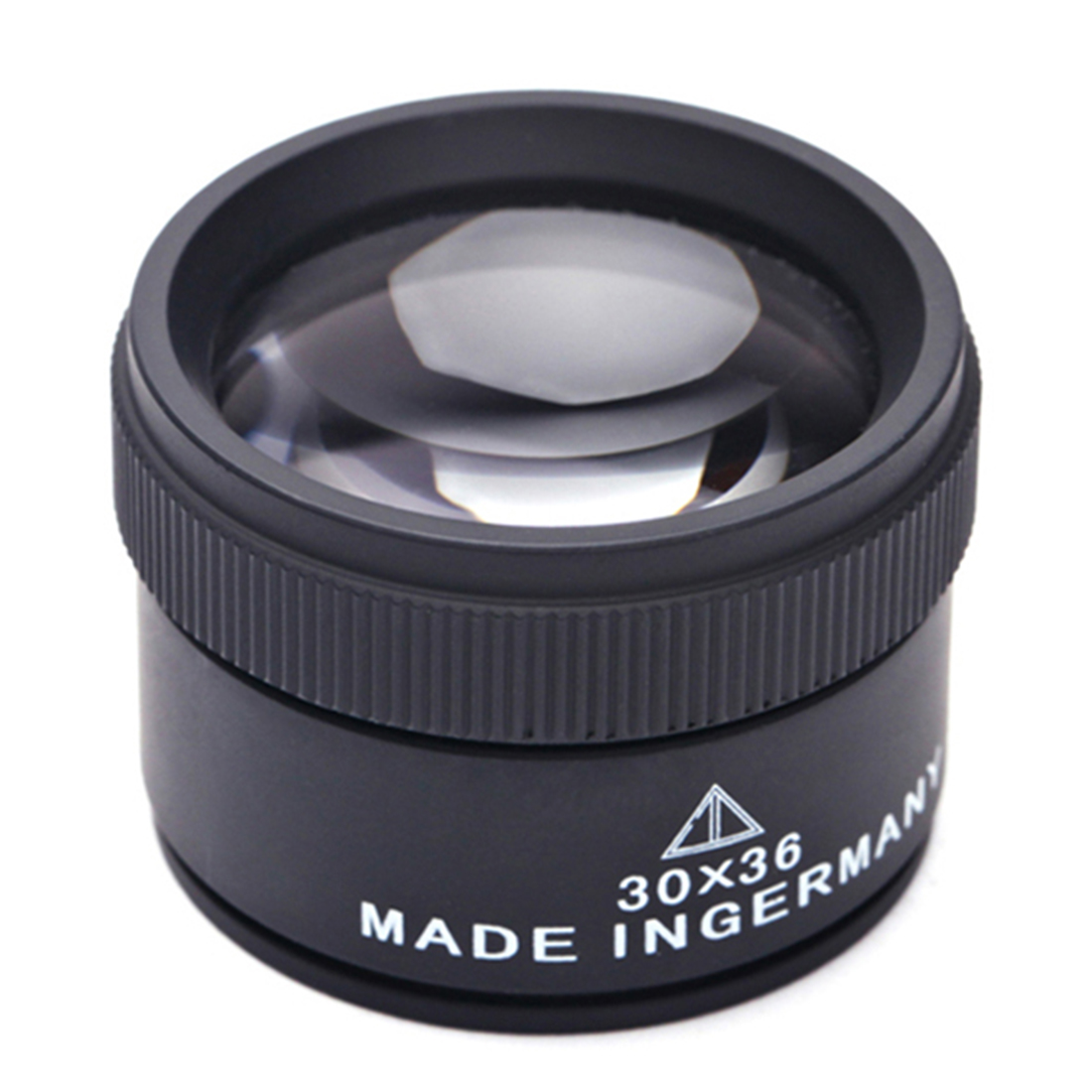 30X 36mm HD Magnifying Glass Optical Glass Lens Loupe Magnifier Mini Pocket Magnifier Handheld Coin Stamps Jewelry Loupe