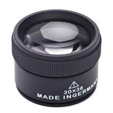 Loupe de bijoutier loupe bijoutier 30X, Mini Loupe de poche, lentille optique pour la réparation de bijoux