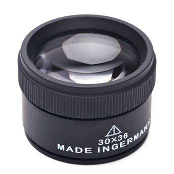 30X 36mm HD lupa szklana soczewka optyczna lupa lupa Mini kieszeń lupa Handheld monety znaczki lupa jubilerska tanie i dobre opinie Inpelanyu C1429-01 Brak Szkło Pocket Magnifier Coin Stamps Magnifier Jewelers Loupe Microscope Optical Glass Lense 30X Magnifying