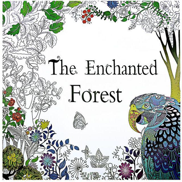 1 unids bosque encantado pájaro 24 páginas inglés libro para ...