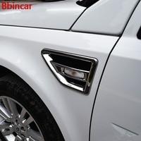 Bbincar ABS Chrome Door Air Vent Nozzle Cover Trim AC Outlet Matte Trim For Land Rover